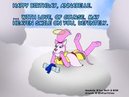 Happy Birthday, Annabelle (with Caption) by KBAFourthtime