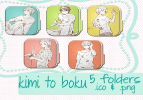 folders kimi to boku by verderawr