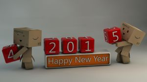 Danbo Happy New Year 2015 by Dracu-Teufel666