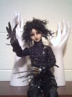 Edward Scissorhands BJD by mourningwake-press