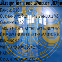 Recipe for Good Doctor Who by zuzuKH
