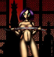 Naked Blade of the Oracle Sword 2 by penguin-commando