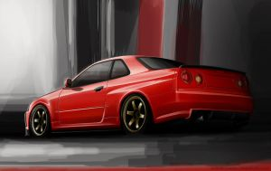 Nissan Skyline GTR by EvolveKonceptz