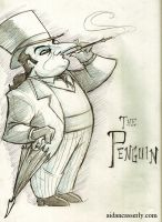 PENGUIN Sketch by DadaHyena