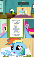 R.D. Reads Derpy's Guide to Being Derpy - Volume 3 by sbloom85