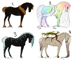 Equine Offer To Adopts - CLOSED by gyngercookie