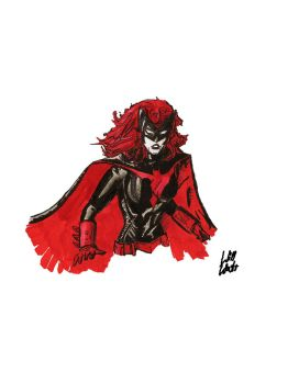 Batwoman Sketch by WillWatt
