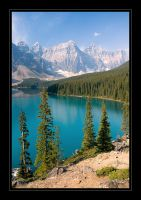 Moraine Lake by seaworthy