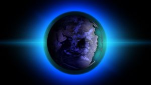 The blue Planet by Topas2012