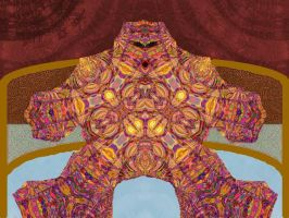 Psychedelic Hockey Goalie by Very-Old-Geezer