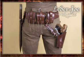 Headhunter's Belt-2 by Leder-Joe