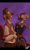 Disney's Treasure planet by chocolatecherry