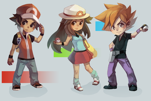Pokemon Gen 1 by BloodnSpice