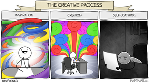 Happy Jar - The Creative Process by tomfonder