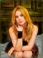 Ashley Benson by sidiator