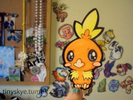 Torchic by TinySkye