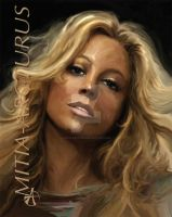 Mariah Carey by Mitia-Arcturus