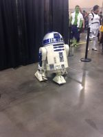 Phoenix Comicon 2014 R2D2 (2) by Demon-Lord-Cosplay