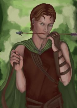 The Archer by PersephoneWatching