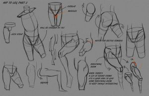 Leg Hip Notes P2 by FUNKYMONKEY1945