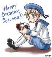 APH: Happy B-Day Sealand by JammerLea