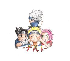 Kawaii Team 7 by elontirien
