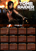 TPW - Mini Calendrier Tomb Raider 2014 NonOfficiel by FearEffectInferno