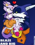 Blaze and Big by raygirl