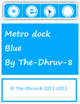 Metro dock Blue by TheDhruv