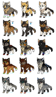 Pup Litter 30 by LizzysAdopts