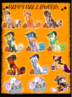 Happy Halloween by Kitsune-wolf