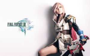Final Fantasy XIII Lightning Farron Cosplay by Fantalusy