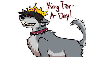 King For A Day~Doodle by BloodVendor