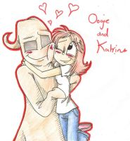 AT: Oogie and Katrin by DragonCatgirl