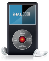 iHAL 9000 ipod 2001 by awe-inspired