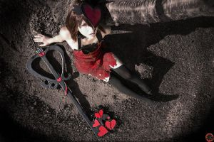 Broken love    Halloween Kairi by Shiya