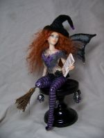 """Matilda""  ooak Witch Fairy by AmandaKathryn"