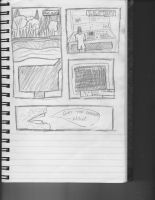Sketch of Comic I am currently working on. by dustintmoney