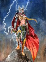 Thor Girl by lovoart