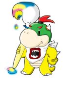 Not Bowser- Bowser JR. by Pikaripeaches