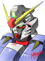 Random Gundam Design by Twilight-Hikari