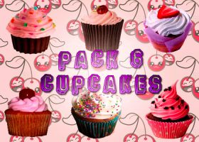 Pack de Cupcakes PNG by MileyUAreMyLife