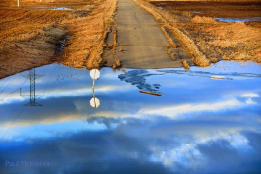 Washed Out Road by PaulMcKinnon