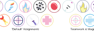 My Little Fortress - Emblems by Firestorm-CAN