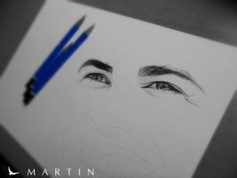 .: In memory of Paul ~ WIP :. by Martin--Art