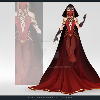 (CLOSED) Adoptable Outfit Auction 244 by JawitReen