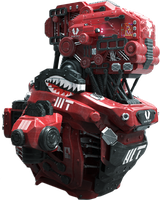 Red Mech by ErectusMaximus