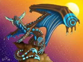 Blueberry Sunset by Galidor-Dragon