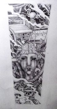 Life Support Tattoo Design by Whammeh
