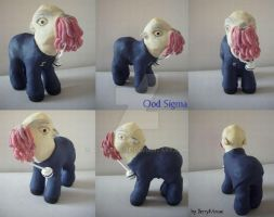 My little Pony Custom Doctor Who Ood by BerryMouse